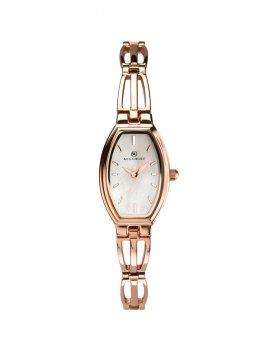 Accurist Women's Tonneau Rose Gold Watch 8280