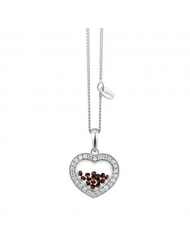 ASTRA Bohemia - Heart Romatic 14mm Necklace