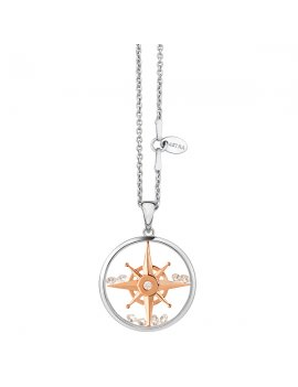 ASTRA Compass Star 20mm Necklace