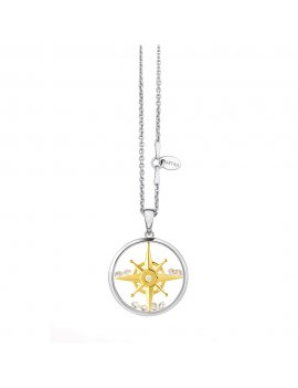 ASTRA Compass Star 16mm Necklace