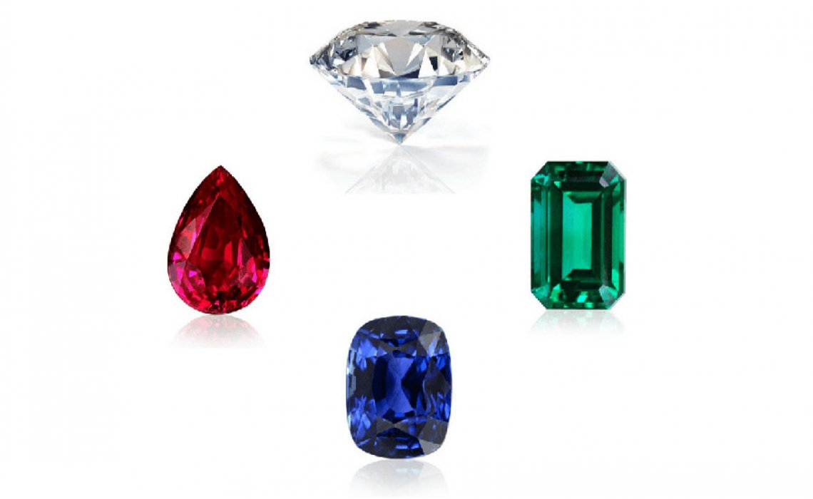 The Four Precious Gemstones