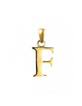 9ct Gold Initial F Pendant
