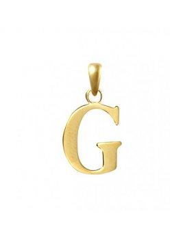 9ct Gold Initial G Pendant