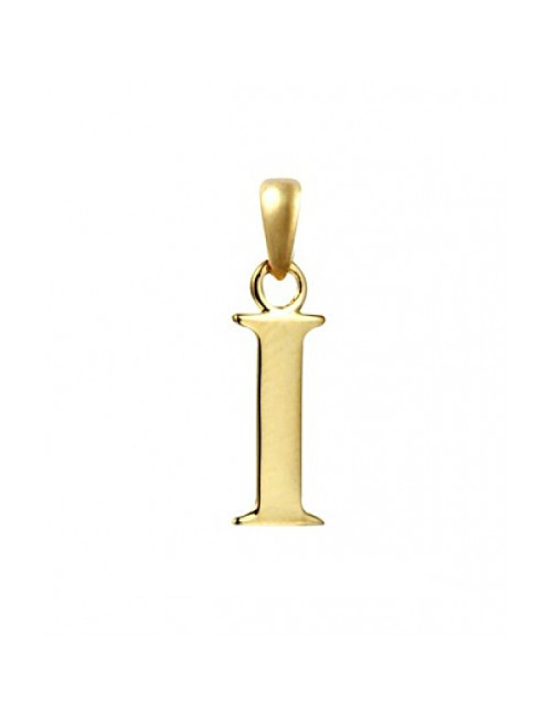 9ct Gold Initial I Pendant
