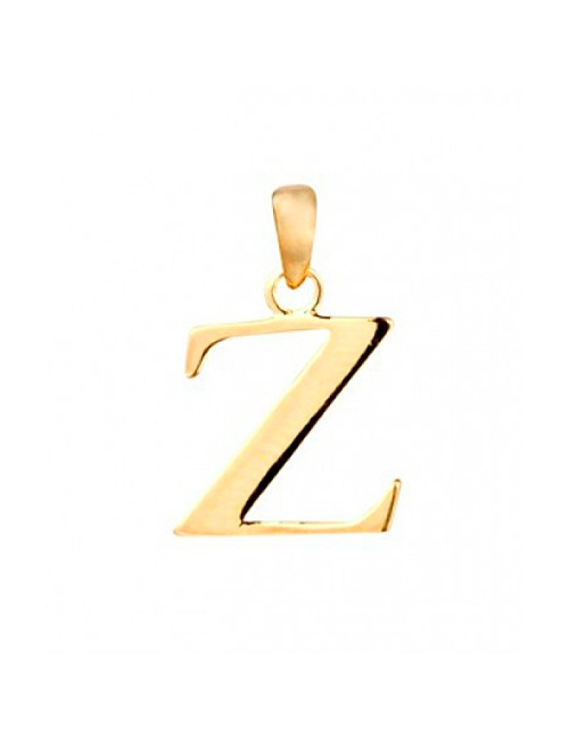 9ct Gold Initial Z Pendant