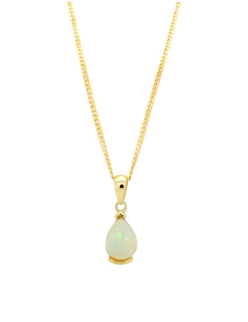 9ct Gold Vintage Opal Pendant