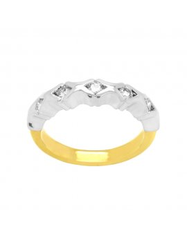 18ct Yellow Gold Diamond Eternity Ring