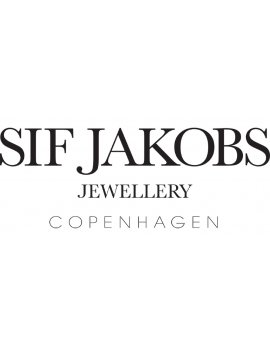 Sif Jakobs Earrings Rimini Altro - 18K Gold Plated With Freshwater Pearl and White Zirconia