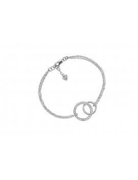 Sif Jakobs Bracelet Prato With White Zirconia