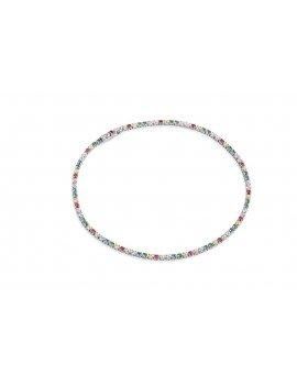 Sif Jakobs Bracelet Ellera With Multicoloured Zirconia
