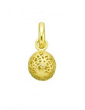 STORY by Kranz & Ziegler 'Flower Globe' Gold Plated Drop Charm 5008137