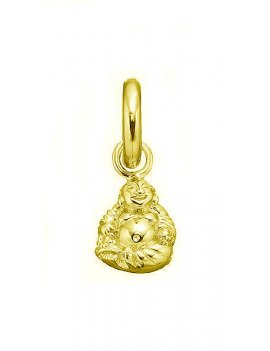 STORY by Kranz & Ziegler 'Buddha' Gold Plated Drop Charm 5008805