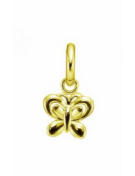 STORY by Kranz & Ziegler 'Butterfly' Gold Plated Drop Charm 5008818